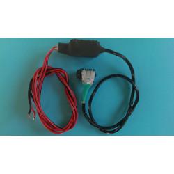 Headset aansluiting voor radio