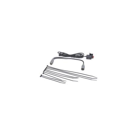 Part 2388 PTT knop met schakelaar (5 pin grijze plug)
