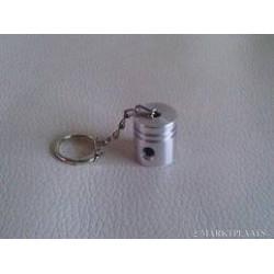 Sleutelhanger aluminuim zuiger