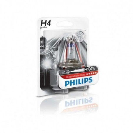 Philips H4 koplamp Extreme Vision +100%